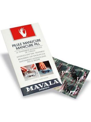 Таблетки для маникюрной ванночки Manicure Pill 6шт Mavala. Цвет: голубой