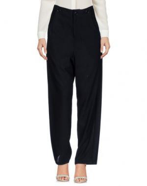Повседневные брюки ZUCCA. Цвет: черный