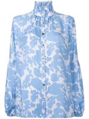 Блузка Baguette Macgraw. Цвет: синий