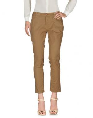 Повседневные брюки TRUE NYC.. Цвет: коричневый