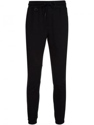 Зауженные спортивные брюки Publish. Цвет: чёрный