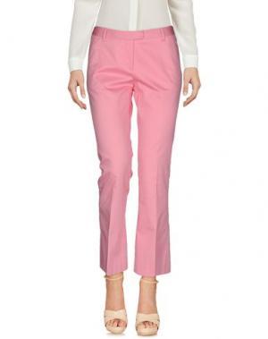 Повседневные брюки FABRIZIO LENZI. Цвет: розовый