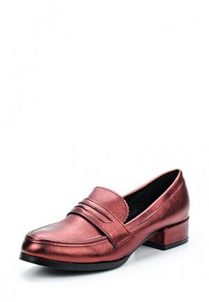 Лоферы Sweet Shoes. Цвет: бордовый
