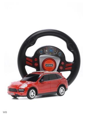 Машина р/у Porsche Cayenne Turbo 1:24 HOFFMANN. Цвет: красный