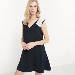 Эксклюзив La Redoute - Платье для торжества SUNCOO. Цвет: темно-синий