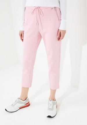 Брюки спортивные Armani Exchange. Цвет: розовый