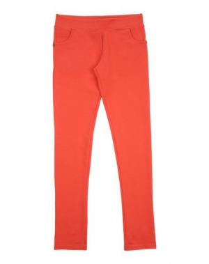 Повседневные брюки MANILA GRACE DENIM. Цвет: коралловый