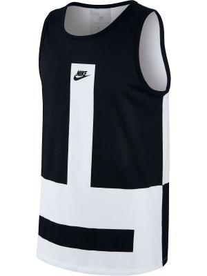 Майка спортивная M NSW TANK MODERN Nike. Цвет: белый