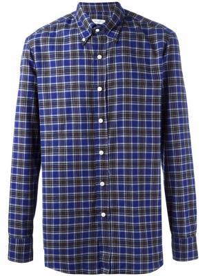 Рубашка George Salvatore Piccolo. Цвет: синий