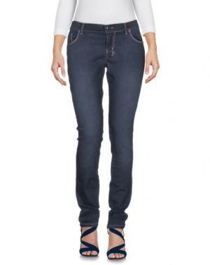 Джинсовые брюки KSUBI. Цвет: темно-синий