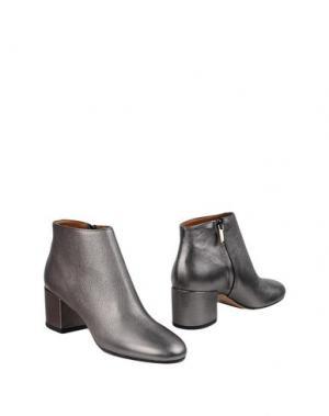 Полусапоги и высокие ботинки BIANCA DI. Цвет: серый