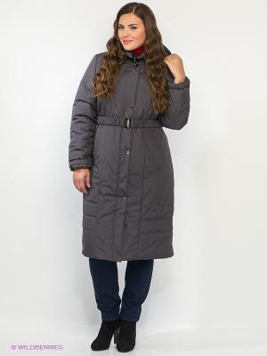 Пальто CARMEN Maritta. Цвет: темно-серый