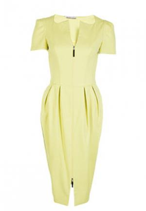 Платье ALTER EGO. Цвет: желтый