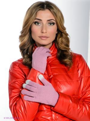 Перчатки Milana Style. Цвет: розовый