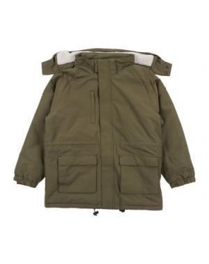 Куртка POPUPSHOP. Цвет: зеленый-милитари