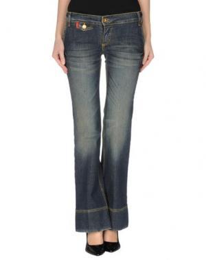 Джинсовые брюки SHI 4. Цвет: синий