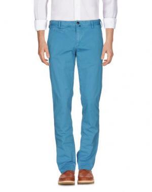 Повседневные брюки JAGGY. Цвет: бирюзовый
