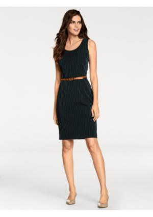 Платье-футляр PATRIZIA DINI. Цвет: черный/белый