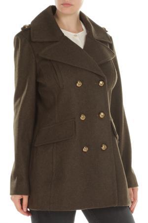 Пальто BCBG. Цвет: 329, jade
