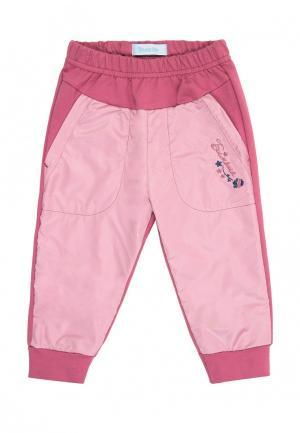 Брюки спортивные Бимоша. Цвет: розовый