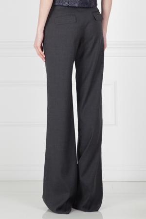 Шерстяные брюки Kaufmanfranco. Цвет: серый