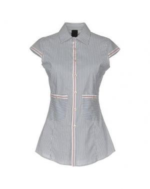 Pубашка SHI 4. Цвет: грифельно-синий