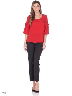 Блузки FLEURETTA. Цвет: красный