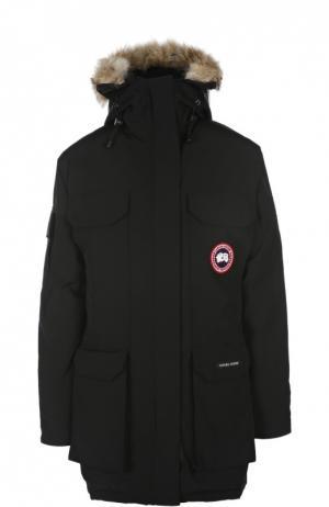 Куртка Canada Goose. Цвет: черный
