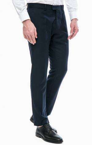 Классические брюки с карманами Antony Morato. Цвет: синий