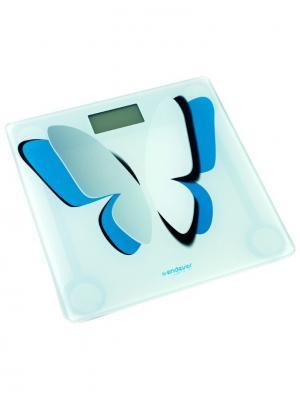 Напольные весы Endever. Цвет: белый, голубой