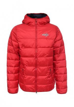 Куртка утепленная Atributika & Club™. Цвет: красный
