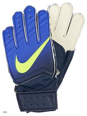 Перчатки NIKE GK JR MATCH FA16. Цвет: синий