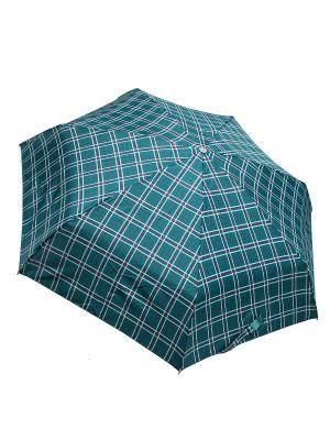 Зонт Edmins. Цвет: темно-зеленый, бирюзовый, красный