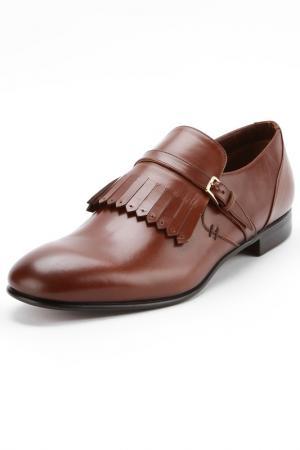 Туфли Sergio Rossi. Цвет: коричневый