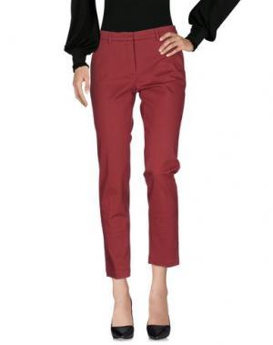 Повседневные брюки -A-. Цвет: кирпично-красный