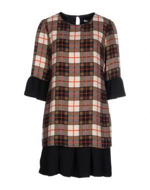 Короткое платье BEATRICE. B. Цвет: коричневый