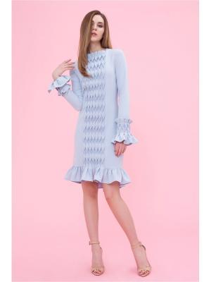 Платье с декоративными вставками DEMURYA