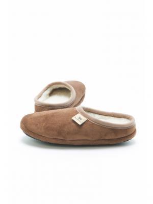Тапочки ALWERO. Цвет: серо-коричневый