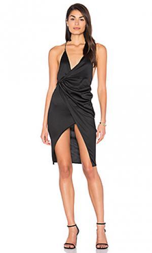 Платье carrie LIONESS. Цвет: черный