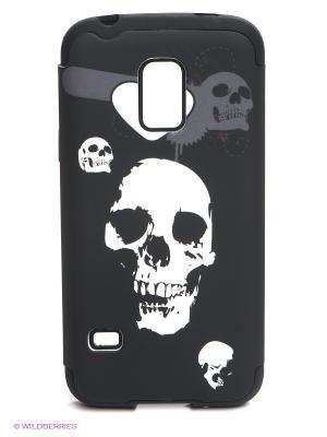 Чехол для Samsung S5 Mini WB. Цвет: черный, темно-серый