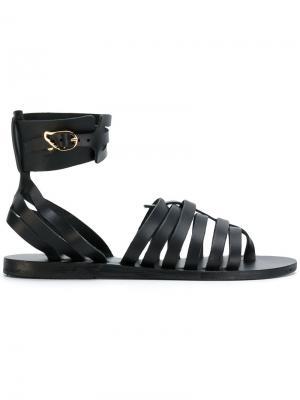 Сандалии Zaira Ancient Greek Sandals. Цвет: чёрный