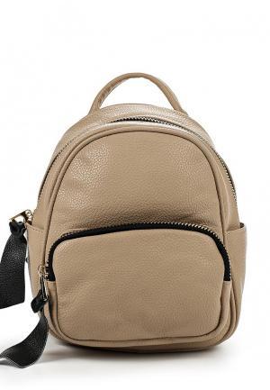 Рюкзак Tom & Eva. Цвет: бежевый