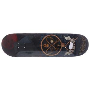 Дека для скейтборда  Skateboards Море Multicolor 33.25 x 8.5 (21.6 см) Nord. Цвет: синий,мультиколор