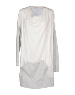 Короткое платье BLEIFREI. Цвет: белый
