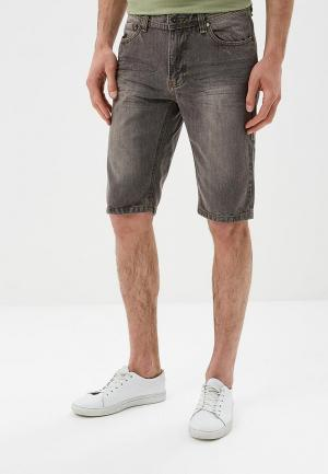 Шорты джинсовые Hopenlife. Цвет: серый