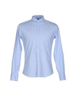Pубашка 26.7 TWENTYSIXSEVEN. Цвет: небесно-голубой