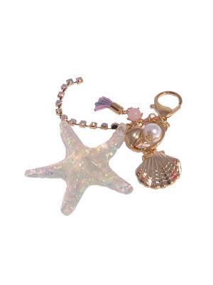 Морская звезда Be Icon. Цвет: светло-голубой, розовый, светло-желтый