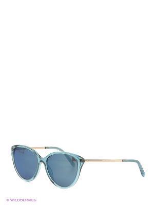 Солнцезащитные очки Rodenstock. Цвет: голубой