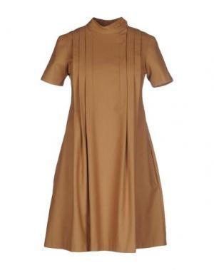 Короткое платье PAUL & JOE. Цвет: верблюжий