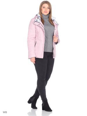 Куртка Chic de Femme. Цвет: бледно-розовый